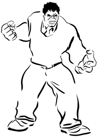 cartone animato hulk