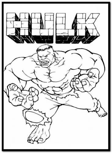 cartone di hulk