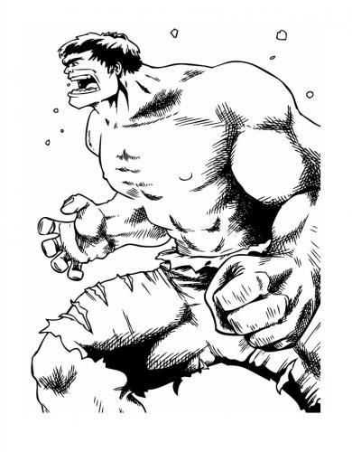 cartone hulk