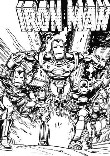 cartone Iron Man