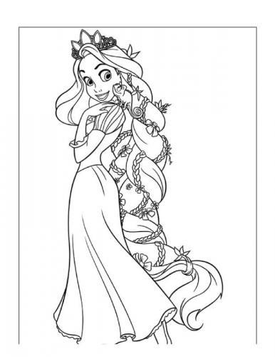 cartone rapunzel