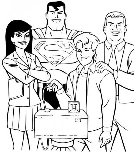 cartoni di Superman