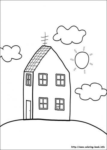 casa della famiglia pig