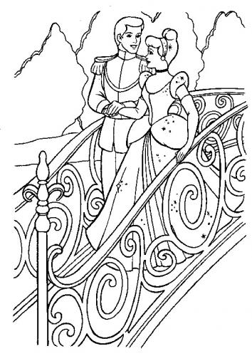 Cenerentola e il principe insieme