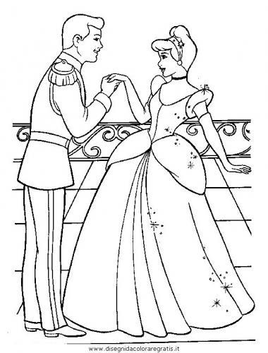 Cenerentola incontra il principe al ballo
