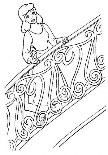 Cenerentola sulle scale