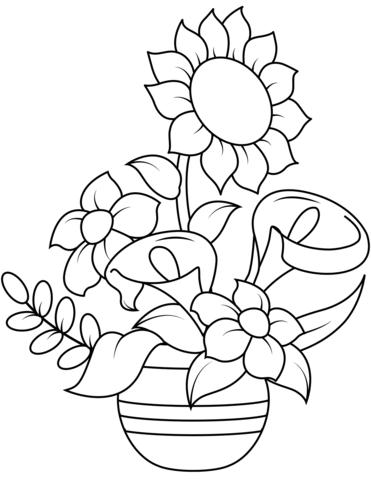 colora girasole