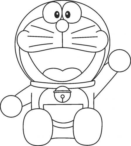 Colorare Doraemon