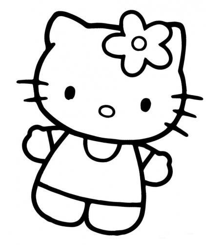 colorare hello kitty