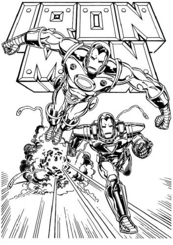 colorare Iron Man online