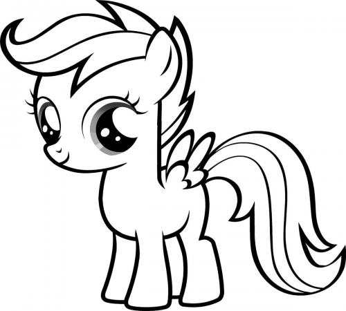 Colorare My Little Pony