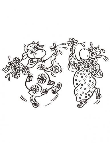 mucche che ballano