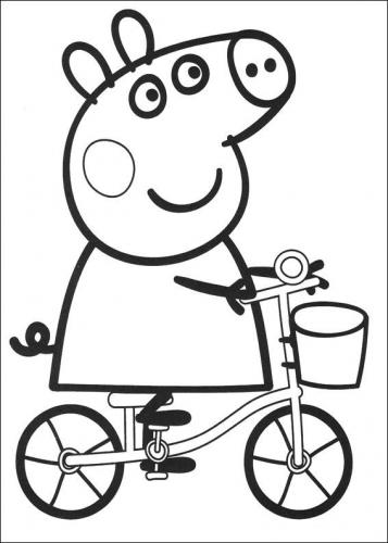 Peppa Pig 72 Disegni Da Stampare E Colorare A Tutto Donna