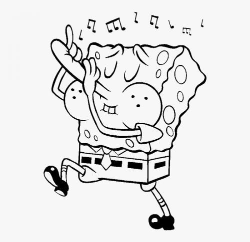Spongebob che si tocca il naso