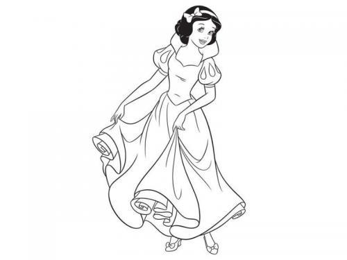 Biancaneve balla
