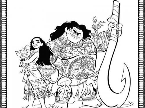 i personaggi di Oceania