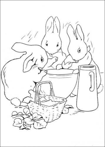 Coniglietti da disegnare