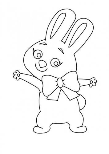 Coniglio colorato