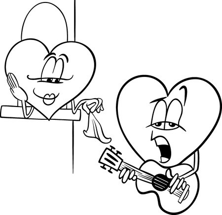 cuore da ritagliare