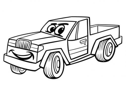 da colorare camion