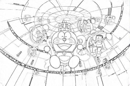 Da colorare Doraemon