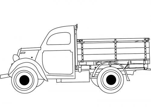 da colorare i camion
