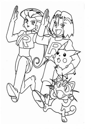 da colorare Pokémon