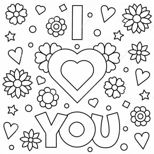 Festa Di San Valentino 60 Disegni Da Colorare A Tutto Donna