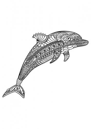 delfino stilizzato