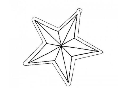 disegni stellina