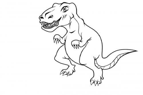 dinosauri da colorare
