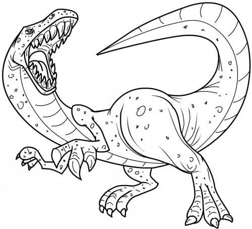 dinosauri da stampare