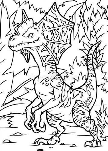 dinosauri disegni da colorare