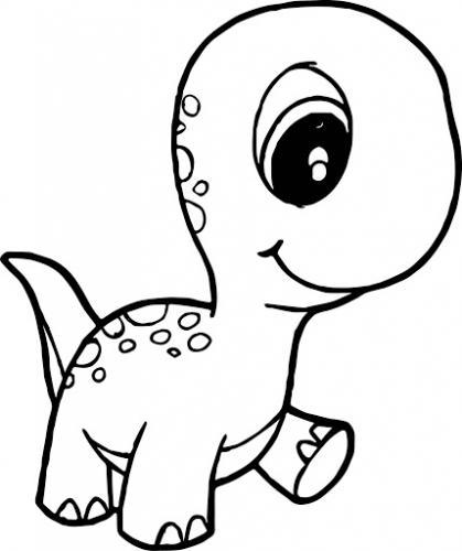 dinosauri per bambini da colorare