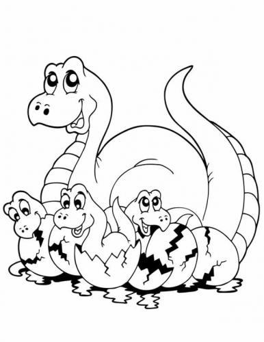 dinosauro disegno bambini