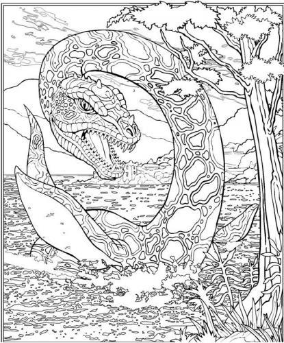 dinosauro stilizzato