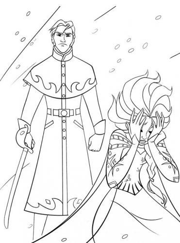 Hans vuole colpire Elsa