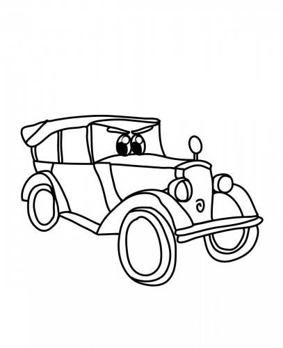 disegno auto