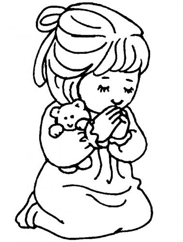 bimba con orsetto
