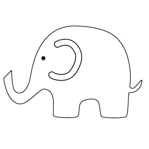 disegnare elefante per bambini