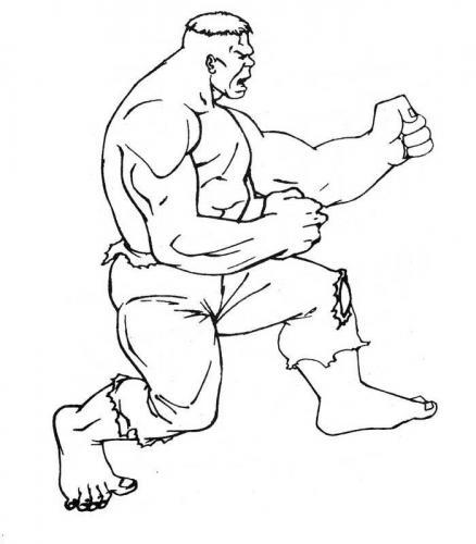 disegnare hulk