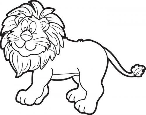 disegnare leone