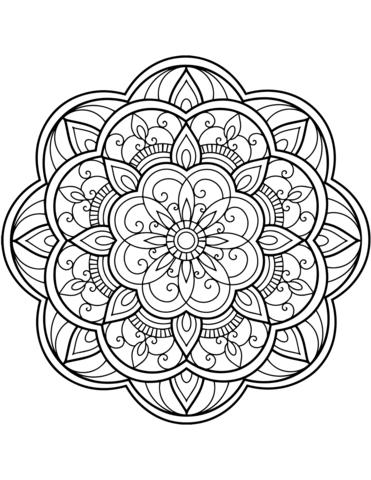 disegnare mandala