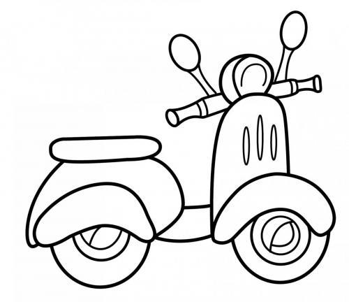 disegnare moto