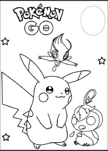 disegnare Pikachu