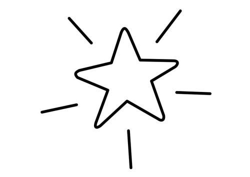 disegnare stelle