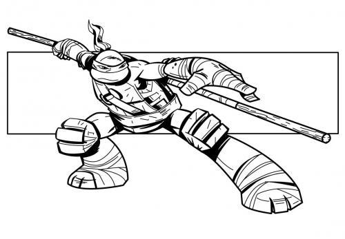 disegnare tartarughe ninja