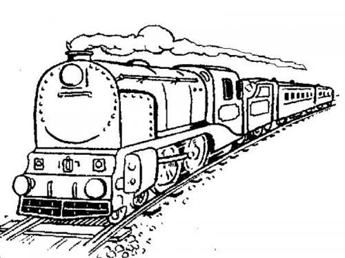 disegnare treni