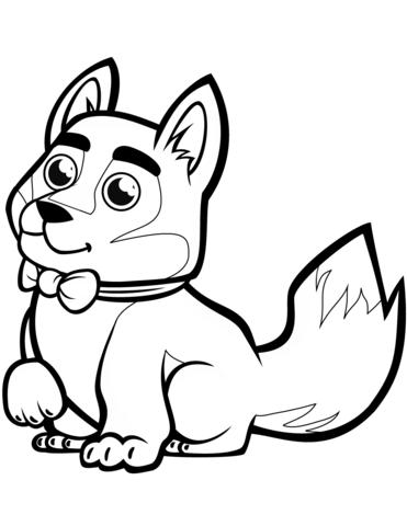 disegnare un cane