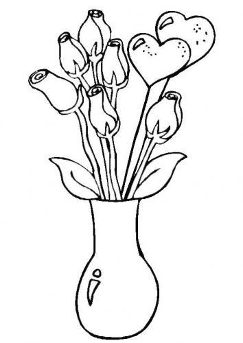 disegni a matita di fiori